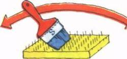 Как очистить кисть